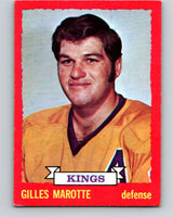 1973-74 O-Pee-Chee #5 Gilles Marotte  Los Angeles Kings  V7936
