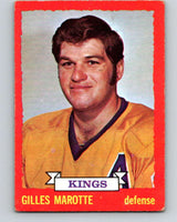 1973-74 O-Pee-Chee #5 Gilles Marotte  Los Angeles Kings  V7937
