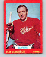 1973-74 O-Pee-Chee #10 Red Berenson  Detroit Red Wings  V7956