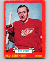 1973-74 O-Pee-Chee #10 Red Berenson  Detroit Red Wings  V7957