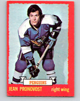 1973-74 O-Pee-Chee #11 Jean Pronovost  Pittsburgh Penguins  V7960