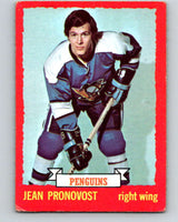1973-74 O-Pee-Chee #11 Jean Pronovost  Pittsburgh Penguins  V7961