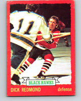 1973-74 O-Pee-Chee #12 Dick Redmond  Chicago Blackhawks  V7962