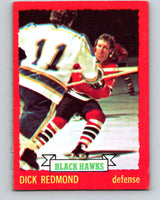 1973-74 O-Pee-Chee #12 Dick Redmond  Chicago Blackhawks  V7963