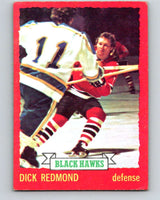 1973-74 O-Pee-Chee #12 Dick Redmond  Chicago Blackhawks  V7965