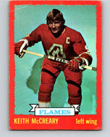 1973-74 O-Pee-Chee #13 Keith McCreary  Atlanta Flames  V7966