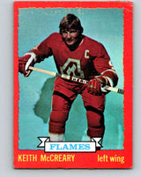 1973-74 O-Pee-Chee #13 Keith McCreary  Atlanta Flames  V7967