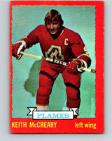 1973-74 O-Pee-Chee #13 Keith McCreary  Atlanta Flames  V7968