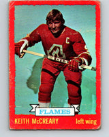 1973-74 O-Pee-Chee #13 Keith McCreary  Atlanta Flames  V7969