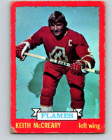 1973-74 O-Pee-Chee #13 Keith McCreary  Atlanta Flames  V7970
