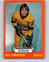 1973-74 O-Pee-Chee #16 Neil Komadoski  RC Rookie Los Angeles Kings  V7978