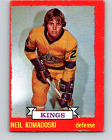 1973-74 O-Pee-Chee #16 Neil Komadoski  RC Rookie Los Angeles Kings  V7979