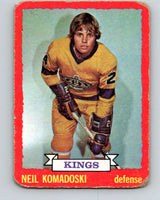 1973-74 O-Pee-Chee #16 Neil Komadoski  RC Rookie Los Angeles Kings  V7980