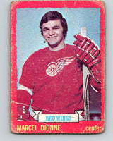 1973-74 O-Pee-Chee #17 Marcel Dionne  Detroit Red Wings  V7987