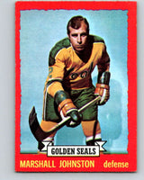 1973-74 O-Pee-Chee #21 Marshall Johnston  California Golden Seals  V8000