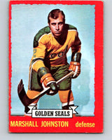 1973-74 O-Pee-Chee #21 Marshall Johnston  California Golden Seals  V8001
