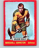 1973-74 O-Pee-Chee #21 Marshall Johnston  California Golden Seals  V8002