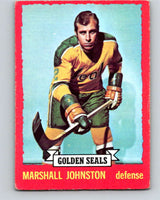 1973-74 O-Pee-Chee #21 Marshall Johnston  California Golden Seals  V8003