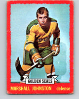 1973-74 O-Pee-Chee #21 Marshall Johnston  California Golden Seals  V8004
