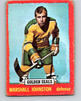 1973-74 O-Pee-Chee #21 Marshall Johnston  California Golden Seals  V8005