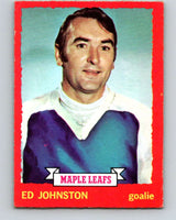 1973-74 O-Pee-Chee #23 Ed Johnston  Toronto Maple Leafs  V8011