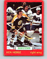 1973-74 O-Pee-Chee #26 Ken Hodge  Boston Bruins  V8023