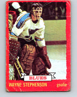 1973-74 O-Pee-Chee #31 Wayne Stephenson  St. Louis Blues  V8049