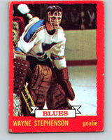 1973-74 O-Pee-Chee #31 Wayne Stephenson  St. Louis Blues  V8050