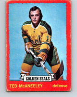 1973-74 O-Pee-Chee #37 Ted McAneeley  California Golden Seals  V8070