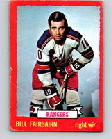 1973-74 O-Pee-Chee #41 Bill Fairbairn  New York Rangers  V8084