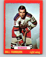 1973-74 O-Pee-Chee #41 Bill Fairbairn  New York Rangers  V8087