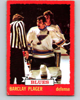 1973-74 O-Pee-Chee #47 Barclay Plager  St. Louis Blues  V8111