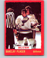 1973-74 O-Pee-Chee #47 Barclay Plager  St. Louis Blues  V8112
