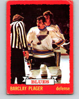 1973-74 O-Pee-Chee #47 Barclay Plager  St. Louis Blues  V8115