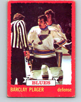 1973-74 O-Pee-Chee #47 Barclay Plager  St. Louis Blues  V8116
