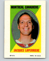 1970-71 Topps Sticker Stamps #20 Jacques Lemaire  Montreal Canadiens  V8676