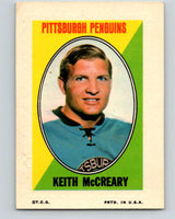 1970-71 Topps Sticker Stamps #22 Keith McCreary  Pittsburgh Penguins  V8678
