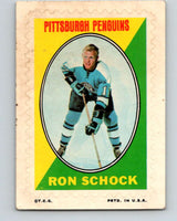 1970-71 Topps Sticker Stamps #29 Ron Schock  Pittsburgh Penguins  V8686