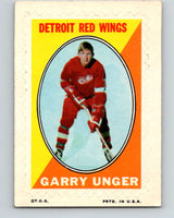 1970-71 Topps Sticker Stamps #30 Garry Unger  Detroit Red Wings  V8687