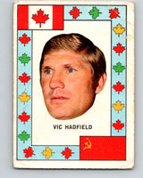 1972-73 O-Pee-Chee Team Canada #13 Vic Hadfield   V8760
