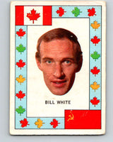 1972-73 O-Pee-Chee Team Canada #28 Bill White   V8793