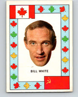 1972-73 O-Pee-Chee Team Canada #28 Bill White   V8794