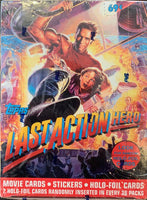 1993 Topps Last Action Hero Movie Cards Hobby Sealed Box - 36 Packs