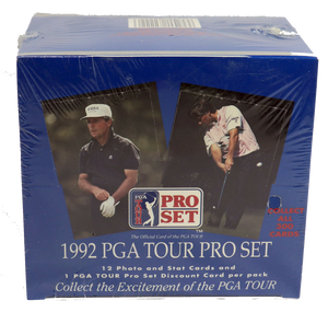 1992 PGA Golf Tour Pro Set Hobby Sealed Box - 36 Packs
