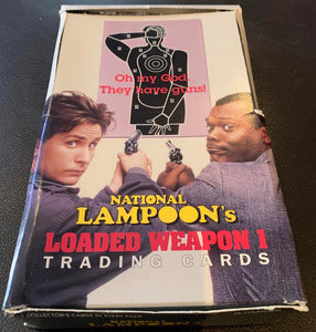 1993 National Lampoon's Loaded Weapon 1 Hobby Card Box - 36 Packs