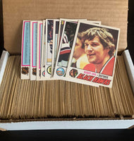 1977-78 O-Pee-Chee NHL Hockey Complete Set 1-398 EX-MINT *0179