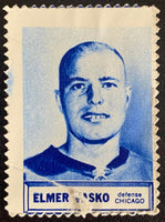 V8850--1961-62 Topps Stamps NHL Hockey Elmer Vasko