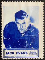 V8852--1961-62 Topps Stamps NHL Hockey Jack Evans