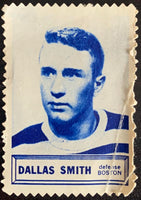 V8855--1961-62 Topps Stamps NHL Hockey Dallas Smith