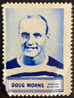 V8855--1961-62 Topps Stamps NHL Hockey Doug Mohns